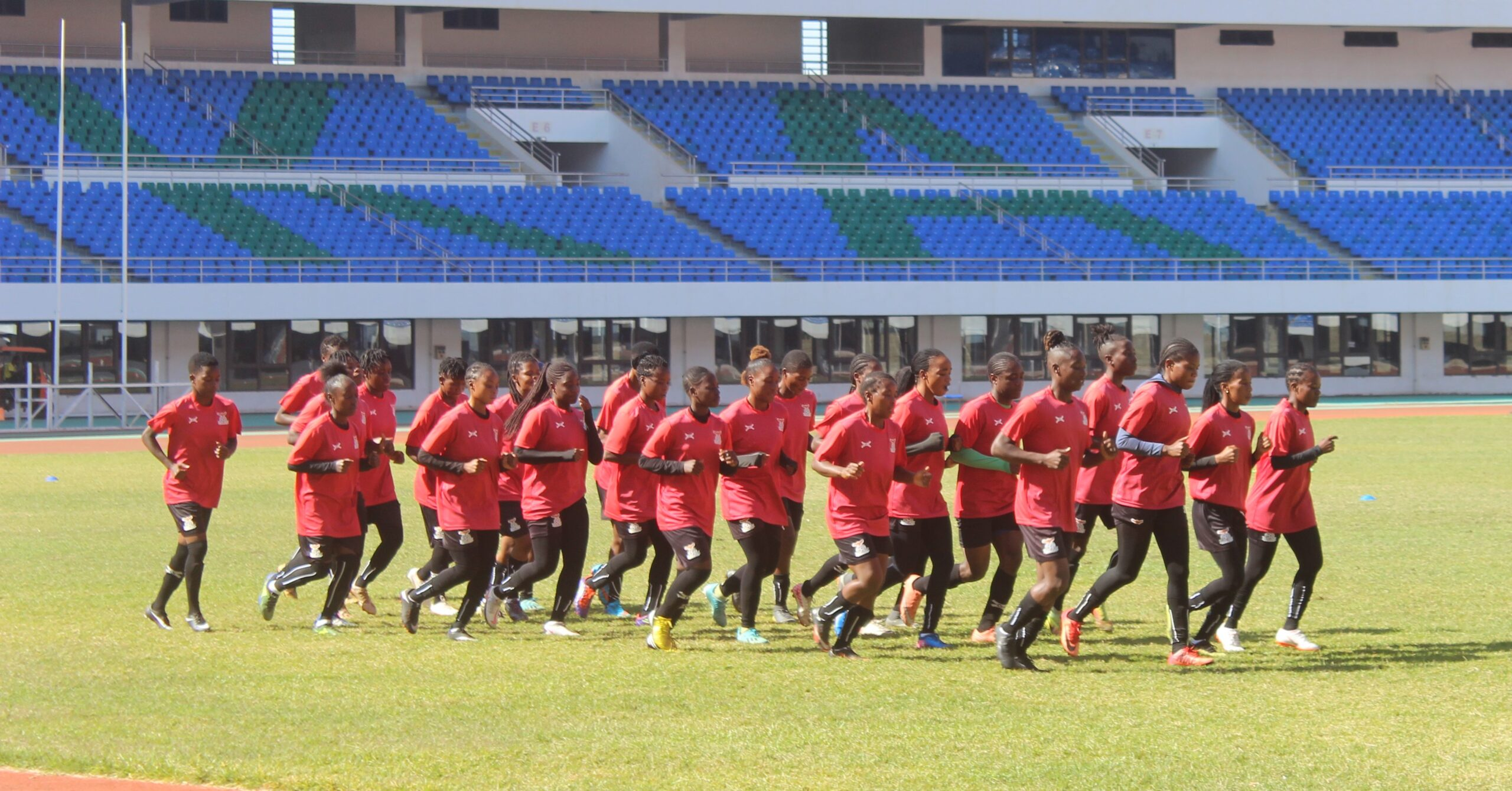 Copper Queens Unfazed by Cancelled Friendly…Mwape calls for focus